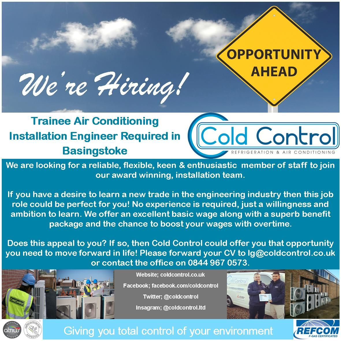 Trainee Installation Engineer Air conditioning