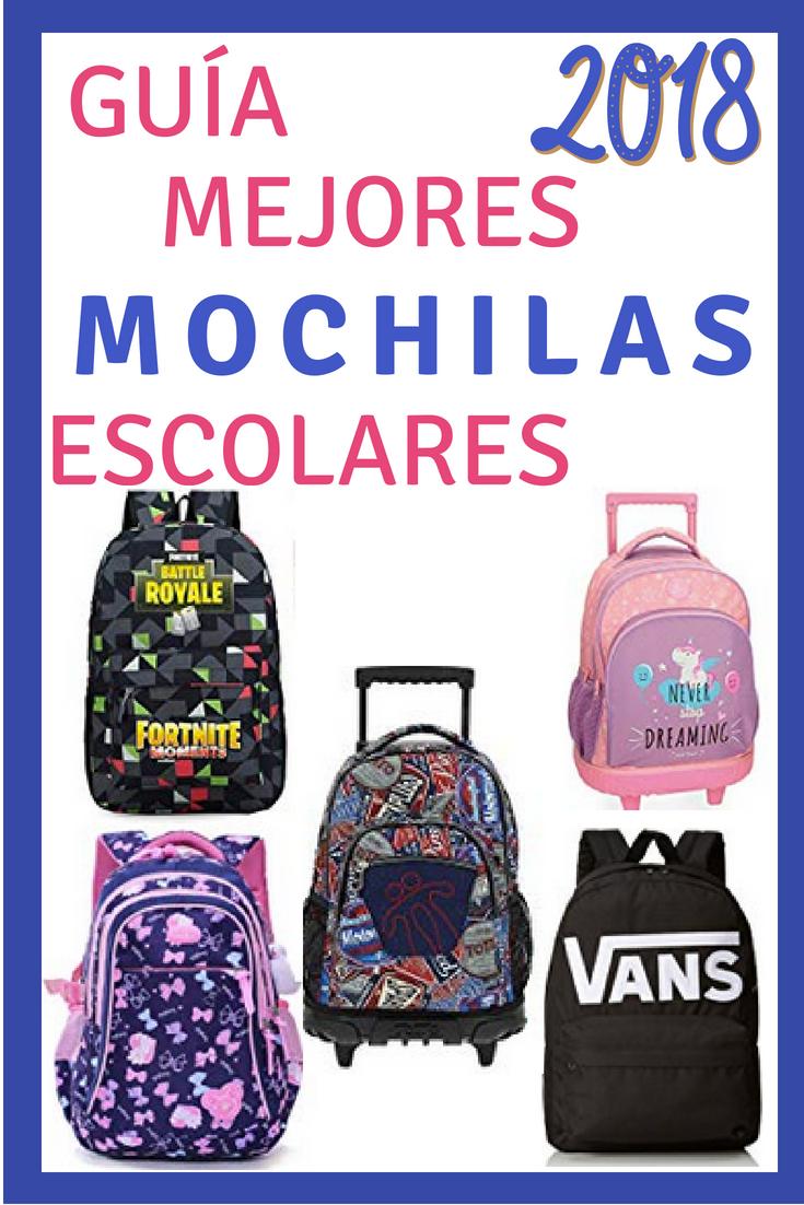 Guía para escoger la mejor mochila escolar para tu hijo en