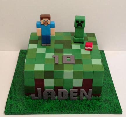 minecraft cakes cake decorating pinterest gateau anniversaire id e gateau et id e. Black Bedroom Furniture Sets. Home Design Ideas