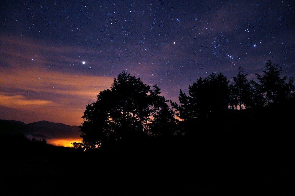 Bright Stars at Night | Tender is the night, Galaxy