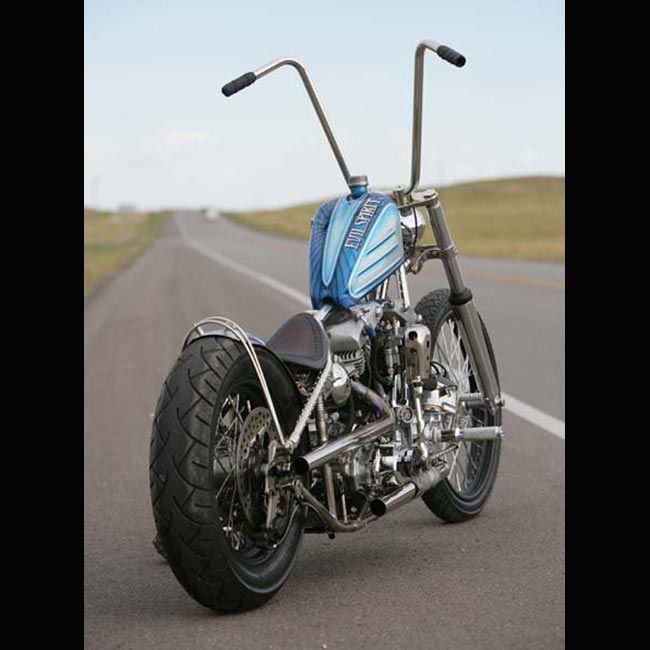 Bobber Style Motorcycle With A Blue Tank And Silver Frame This Is What I Am Looking For Bobber Motorcycle Bobber Harley Davidson Wallpaper