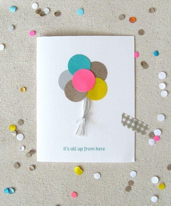 invitations Invitations Pinterest Simple birthday cards Card