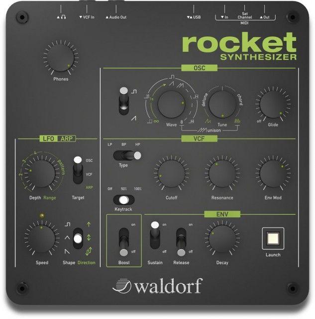 Waldorf Streichfett Tabletop Desktop String Synthesizer Built in Effects USB