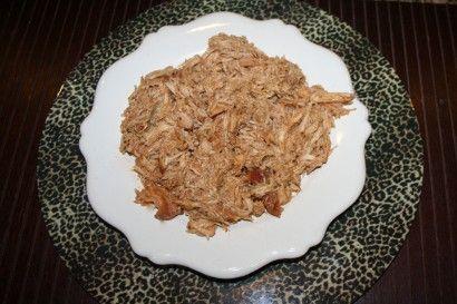 Italian Ranch Shredded Chicken