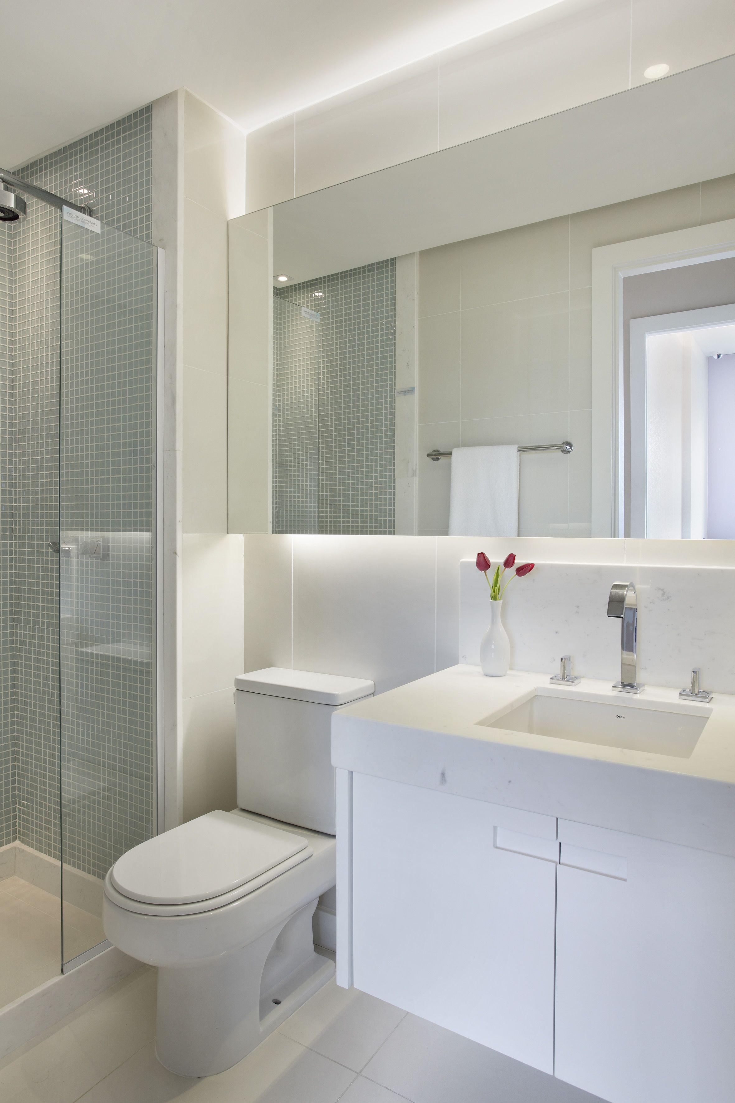 Apartamento decorado odebrecht 2 projeto yamagata for Banos modernos para apartamentos