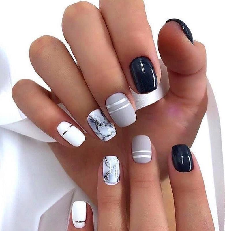 Short Square Nails Design Natural Square Nails Design Summer Short Nails Square Acrylic Short S Short Square Nails Square Nail Designs Cute Nail Art Designs