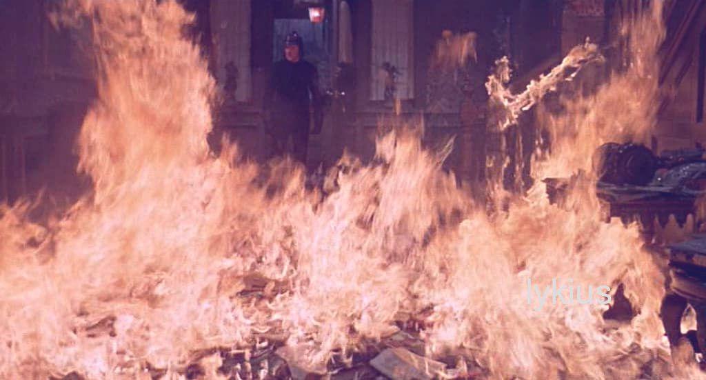 movie  Fahrenheit 451   1966Directed by  Francois Truffautfahrenheit451