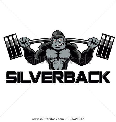 Strong Gorilla With Images Gorilla Illustration Gorillas Art