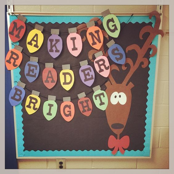 Easy and Fun Christmas Decorations for the Classroom – Bulletin Boards #decemberbulletinboards
