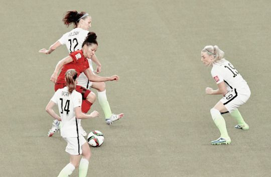 US WNT 2-0 Germany