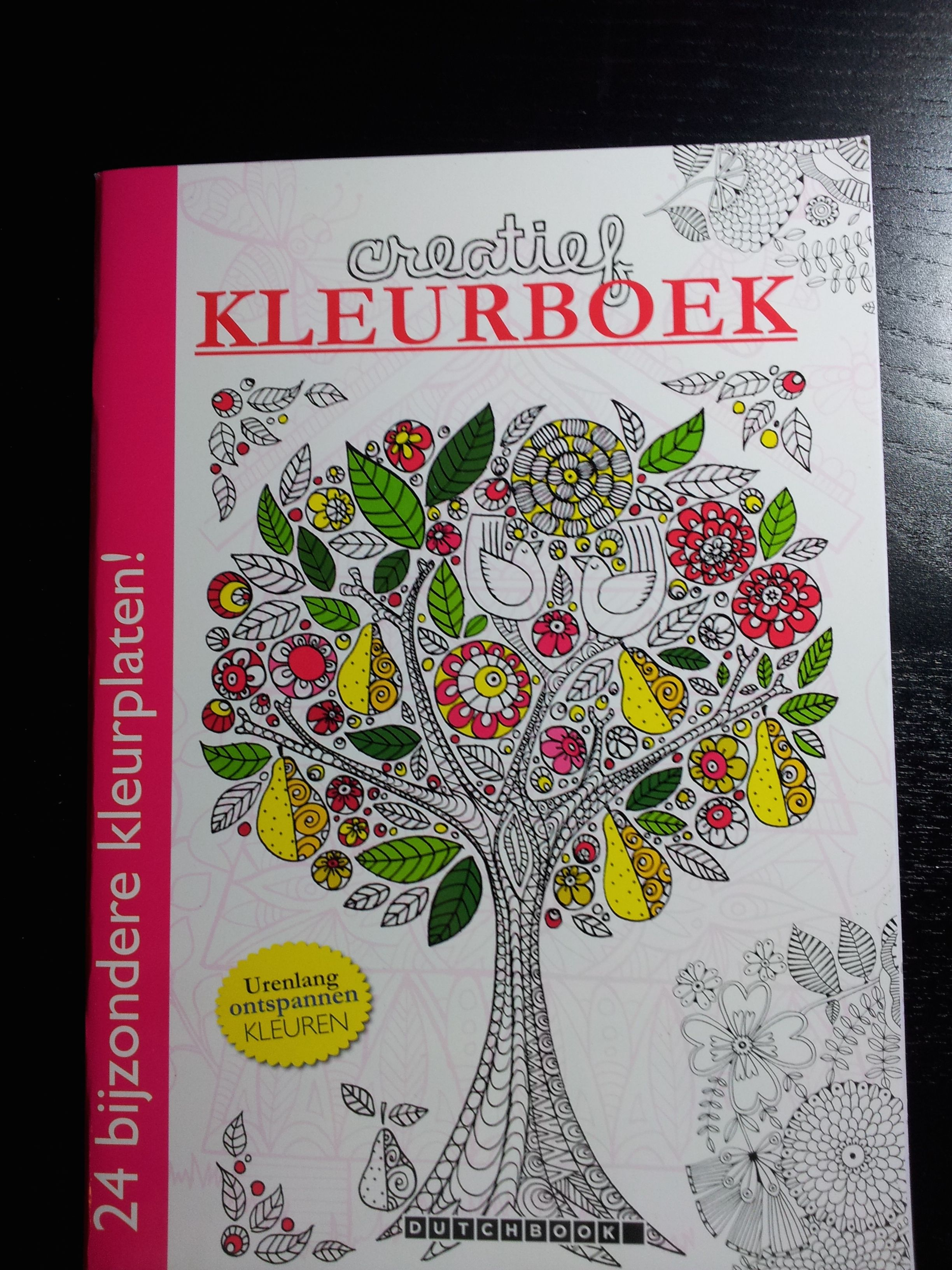 Voorkant Kleurboek Kleurplaten Kleuren