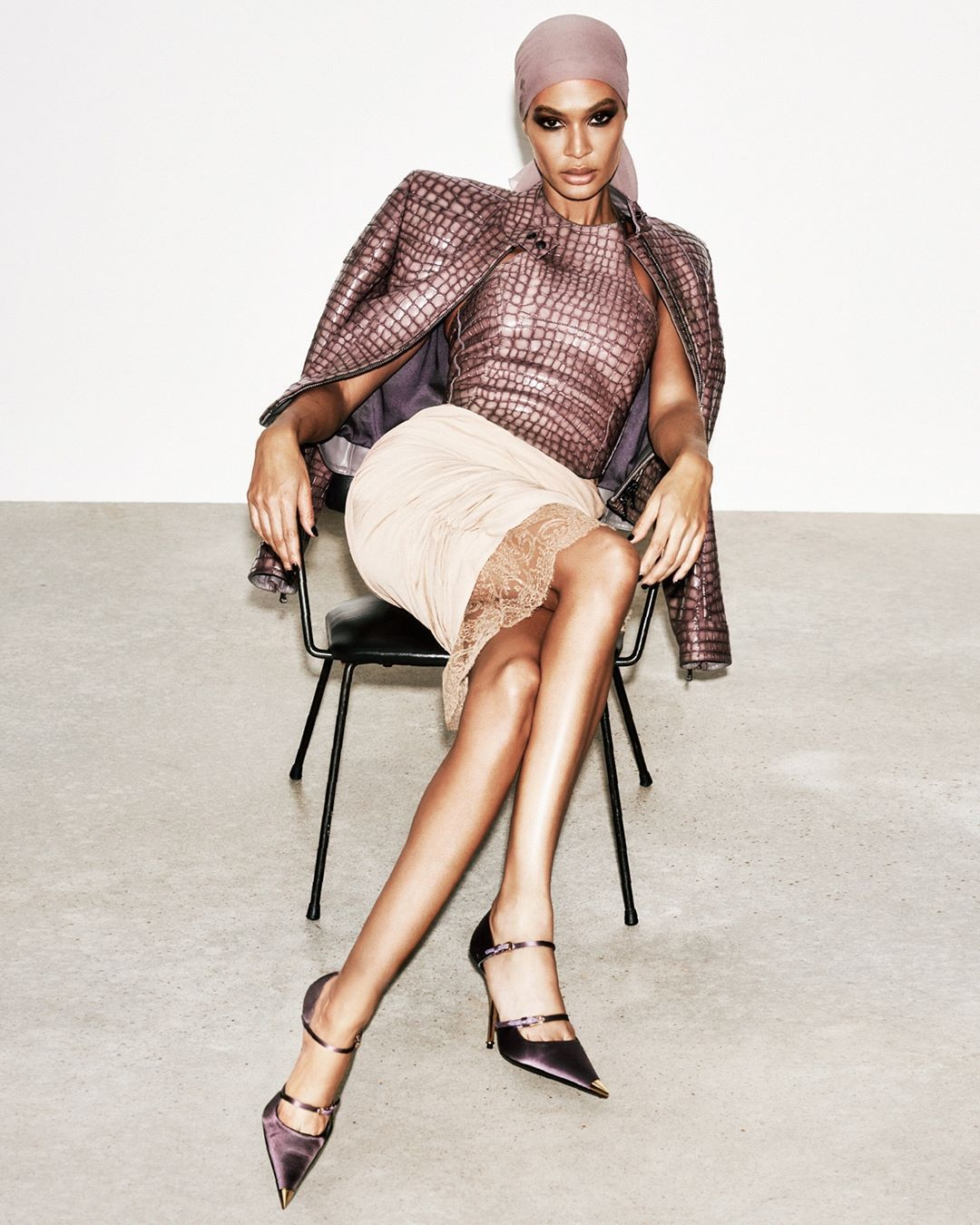 Joan Smalls by Ferry van der Nat for Tom Ford S/S 2019 -