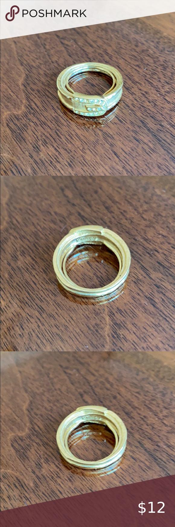Lovely Avon designer ring size 6 1/2 adjustable in 2020