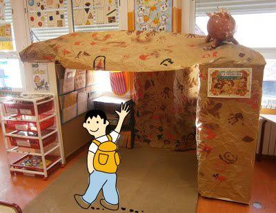 Construir Una Cueva Dentro De La Clase De Infantil Ideas