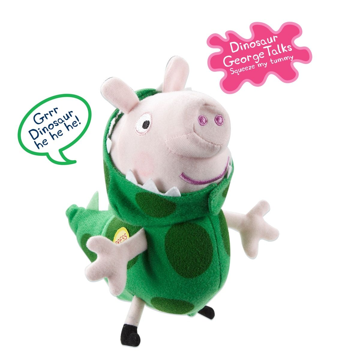 Peppa Pig Plush Asstortment Smyths Toys Peppa Pig Plush Peppa