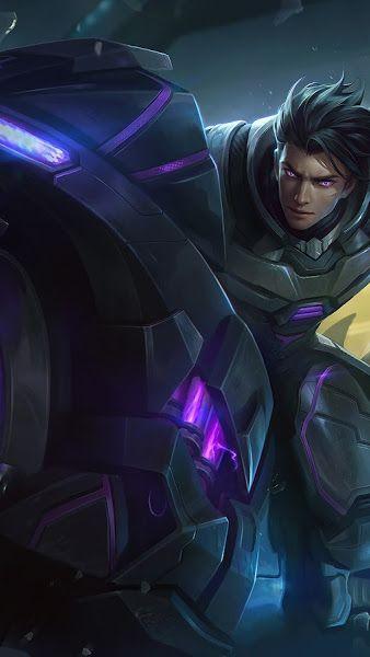 Alucard Obsidian Blade Skin Mobile Legends 4k 3840x2160