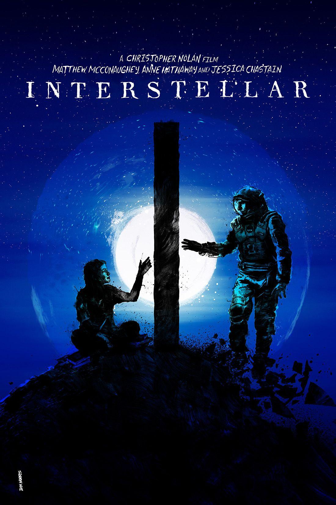 Interstellar 2014 alternative movie poster by daniel