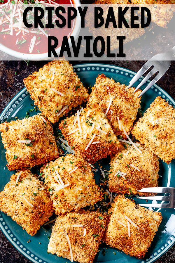 Crispy Toasted Ravioli Recipe - Chew Out Loud #gamedayfood