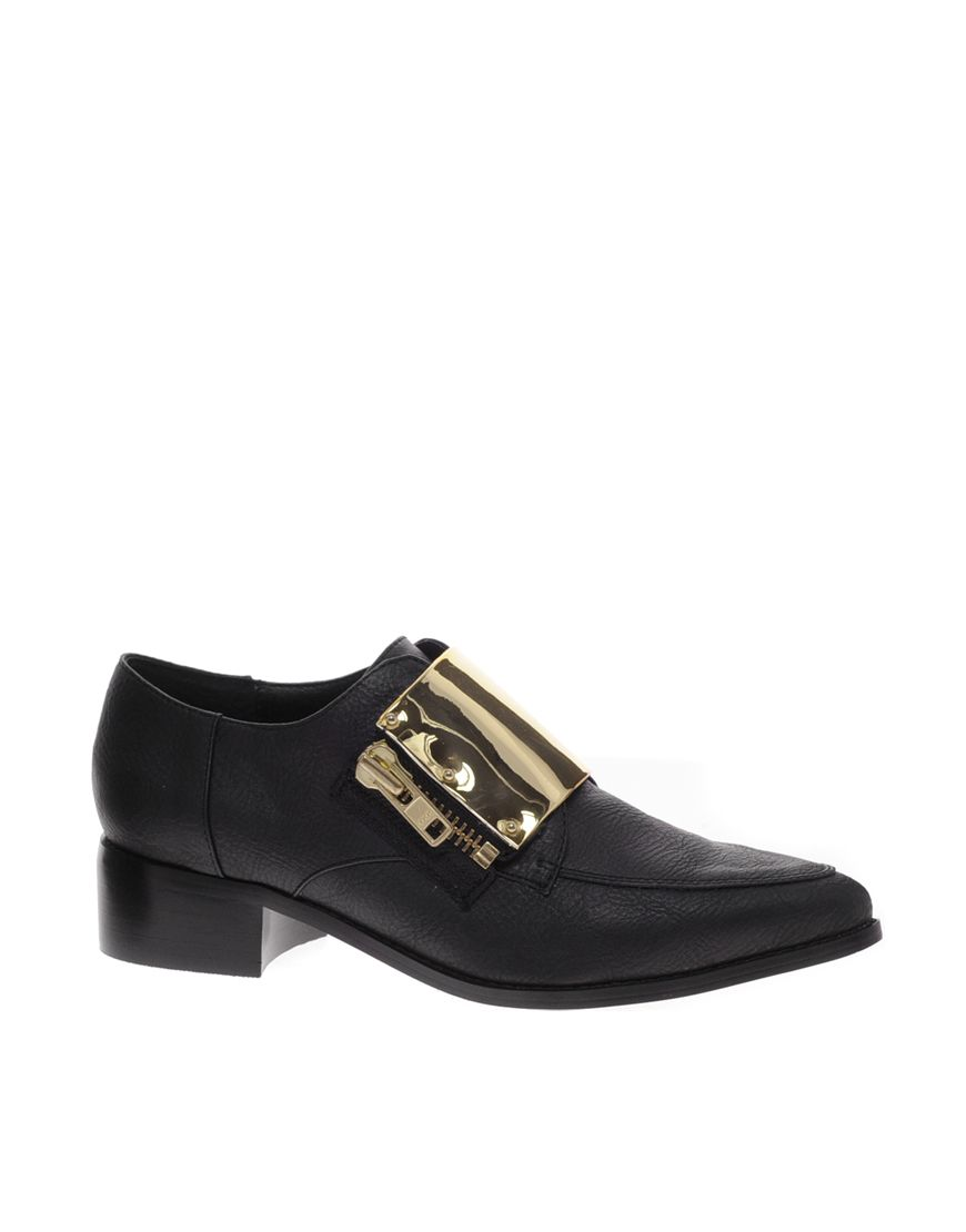 684fbaa21ccb ASOS Malcolm Pointed Flat Shoes with buckle available here http   rstyle.me