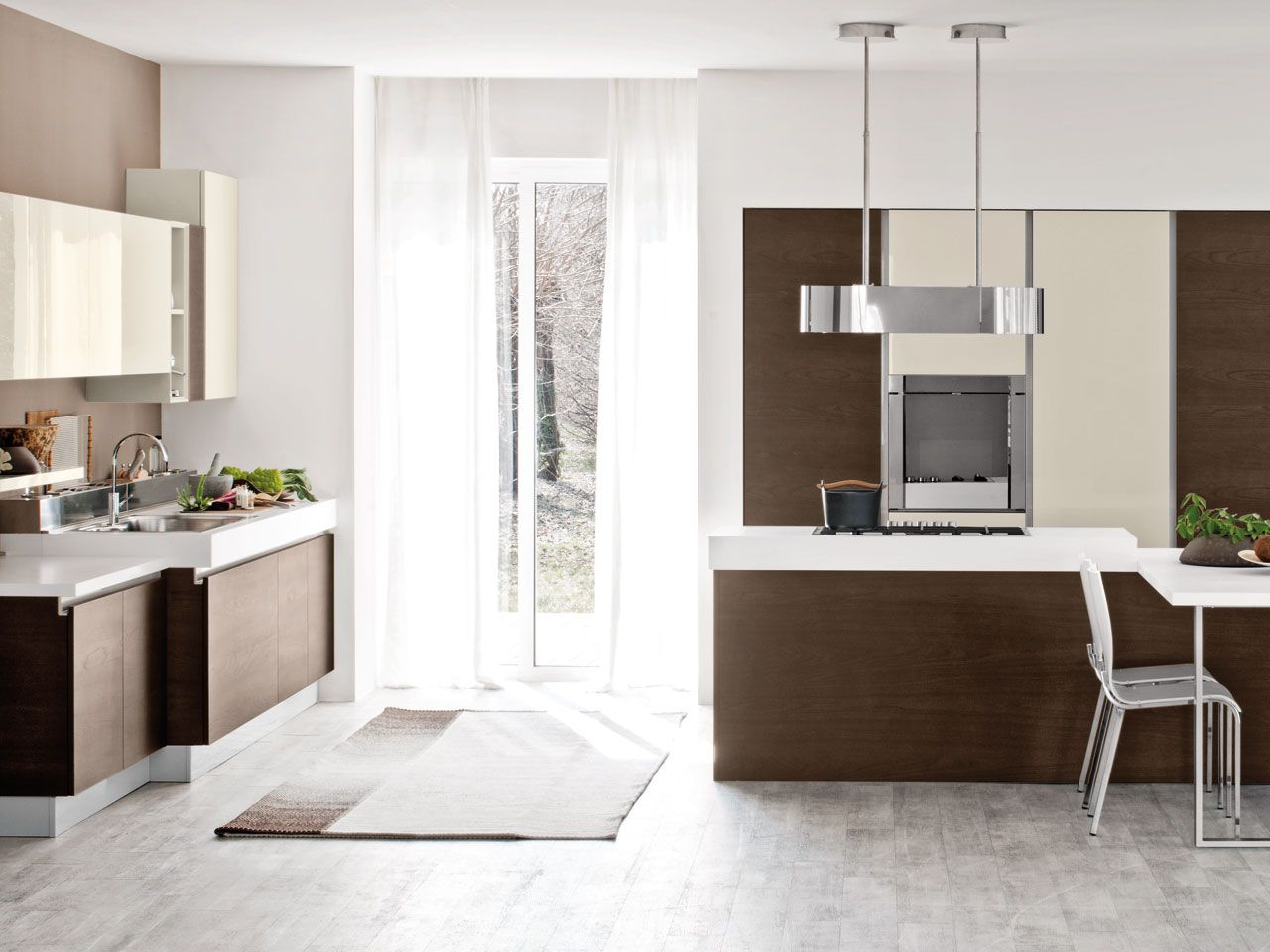 BRAVA - Cucina Lube Moderna | Ripiani in marmo, Cucine ...