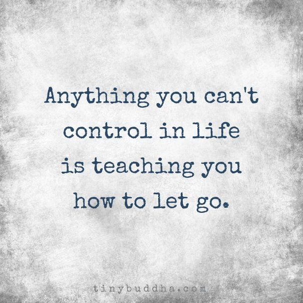 Billedresultat for let go of what you can't control