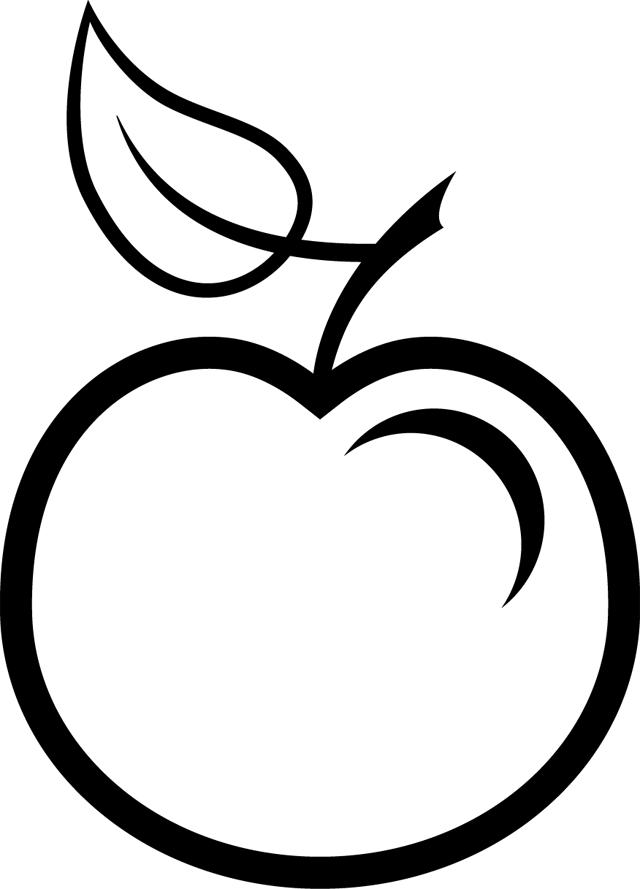 Une pomme ateliers pinterest pommes recherche et dessin - Dessin pomme a colorier ...