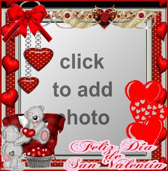 Feliz Dia Le San Valentin | Valentine Frames | Pinterest