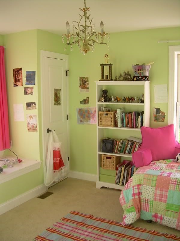 Sherwin Williams Paint Lime Granita Green Kids Rooms Girls