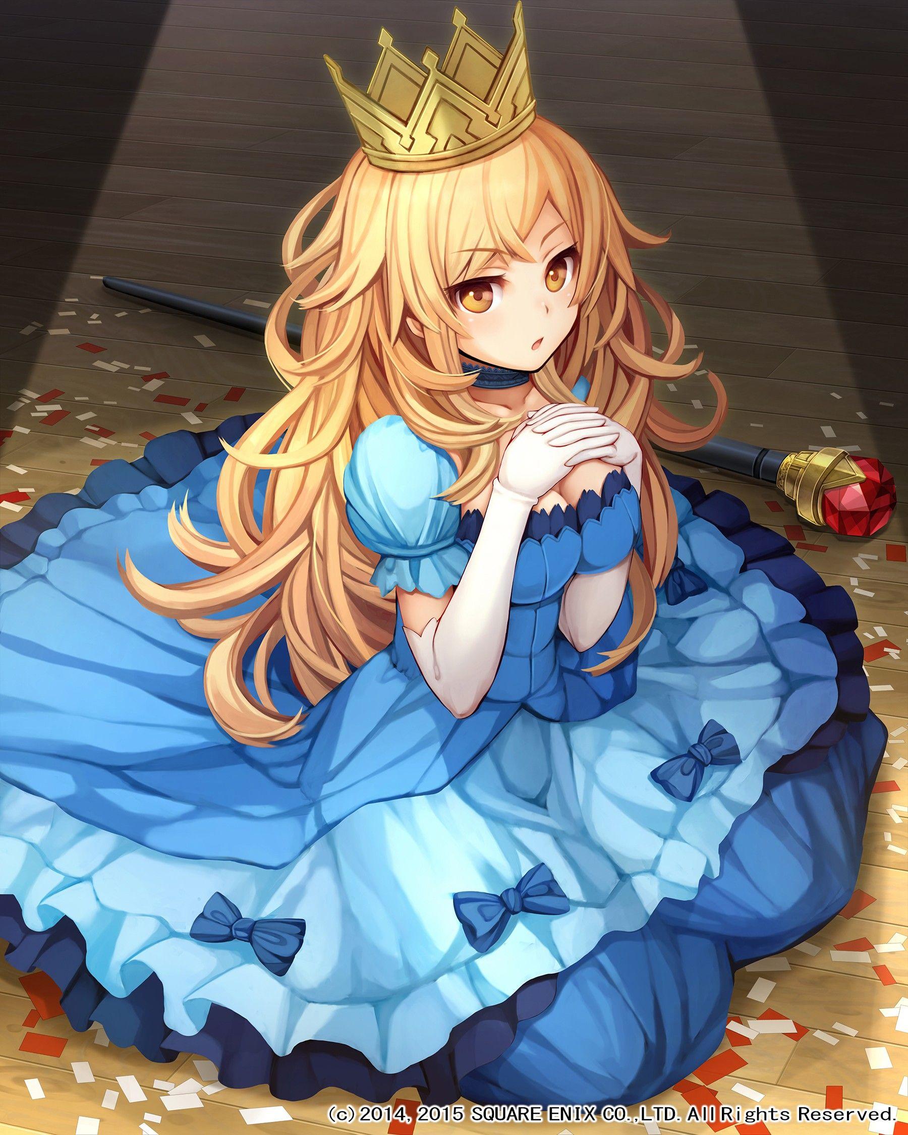 Anime 1800x2250 Anime Anime Girls Long Hair Blonde