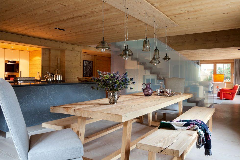 Bedroom In A Chalet Near Bern Switzerland Designed By