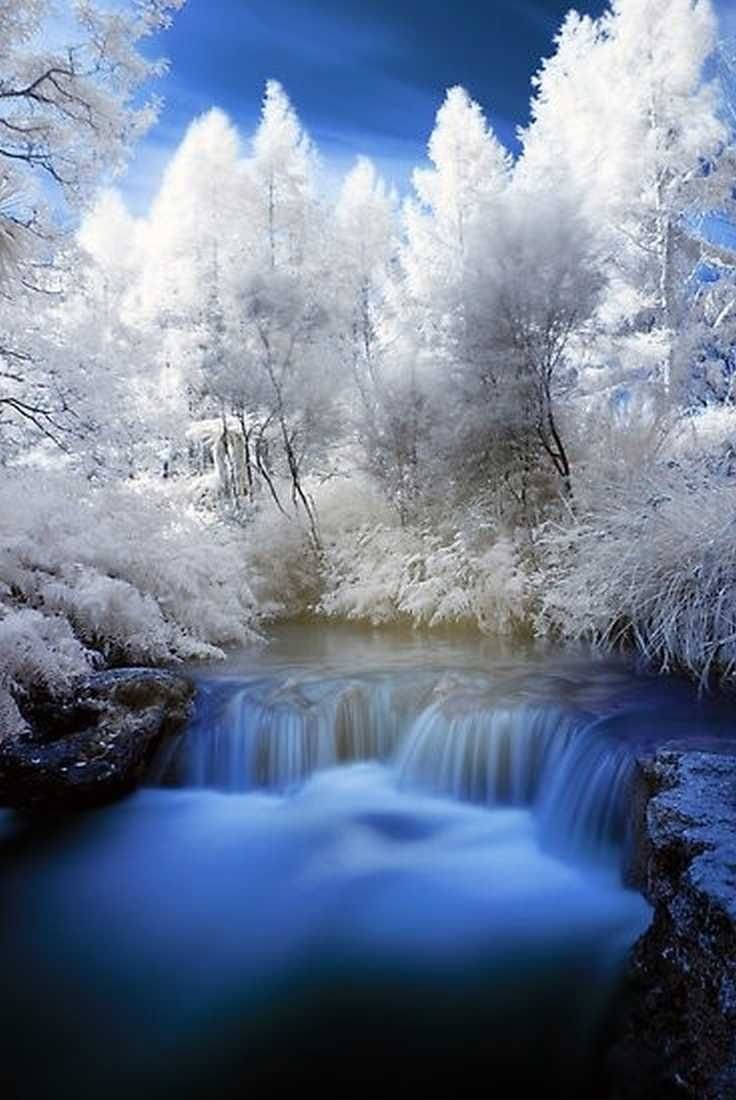 Winter In Kerosene Creek Rotorua New Zealand By Paul Mercer Beautiful Snow And Ice