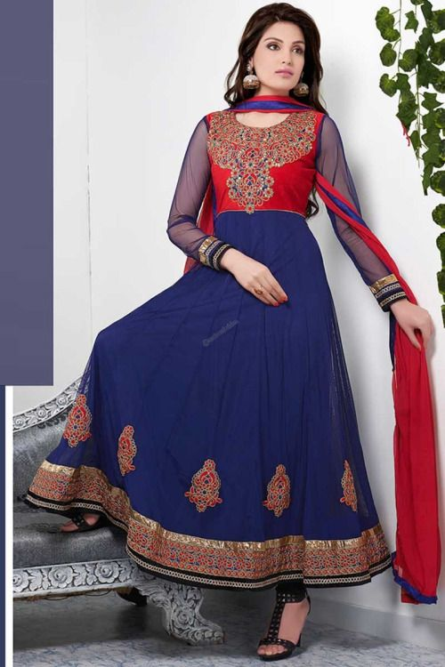 Designer new arrival collection like Blue Net Churidar Suit presented by Andaaz Fashion. Embellished with Embroidered, Resham, Stone, Full Sleeve Kameez, Floor Length Kameez, U Neck Kameez. This is perfect for Party, Wedding, Festival, Casual . Price :  $70.32 http://www.andaazfashion.us/salwar-kameez/churidar-suits/occasion/party-wear-churidar-suits