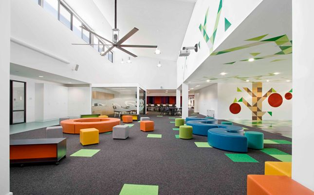 Gentil Smith+tracey Architects Recently Completed The Architecture And Interior  Design Of St Maryu0027s Primary School In Greensborough, Victoria.