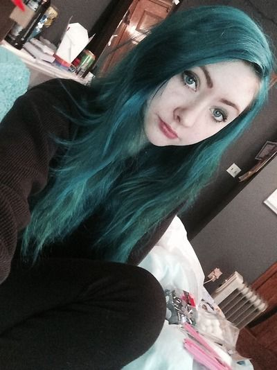 I Used Manic Panic Voodoo Blue On Very Blonde Bleached Hair I