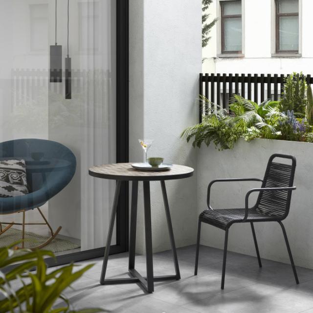 Tavolo piccolo per esterni, tondo o quadrato Idee per