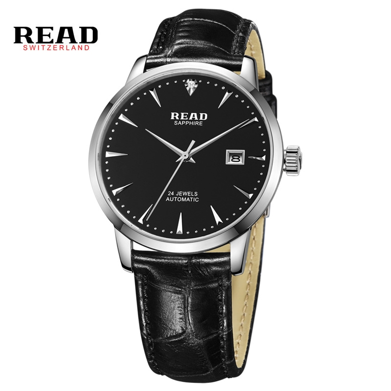 176.39$  Watch here - http://ali8fr.worldwells.pw/go.php?t=32666517442 - 24 Jewels Hot 2016 Luxury Brand Luxury Sport Men Automatic Skeleton Mechanical Military Watch Men Leather Band Reloj  PR176