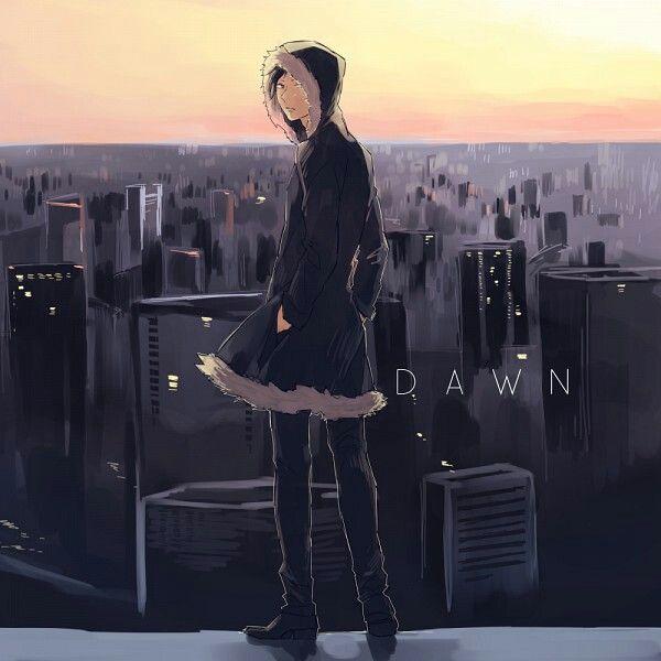 Izaya Orihara #dawn #cityscape #city