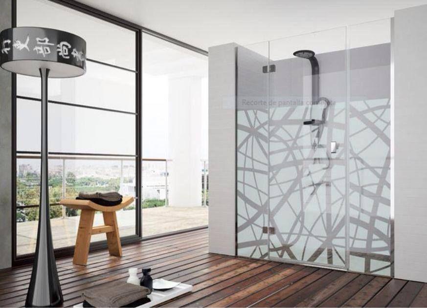 Mampara de ducha modelo xenia del fabricante kassandra for Mamparas de vidrio templado para banos