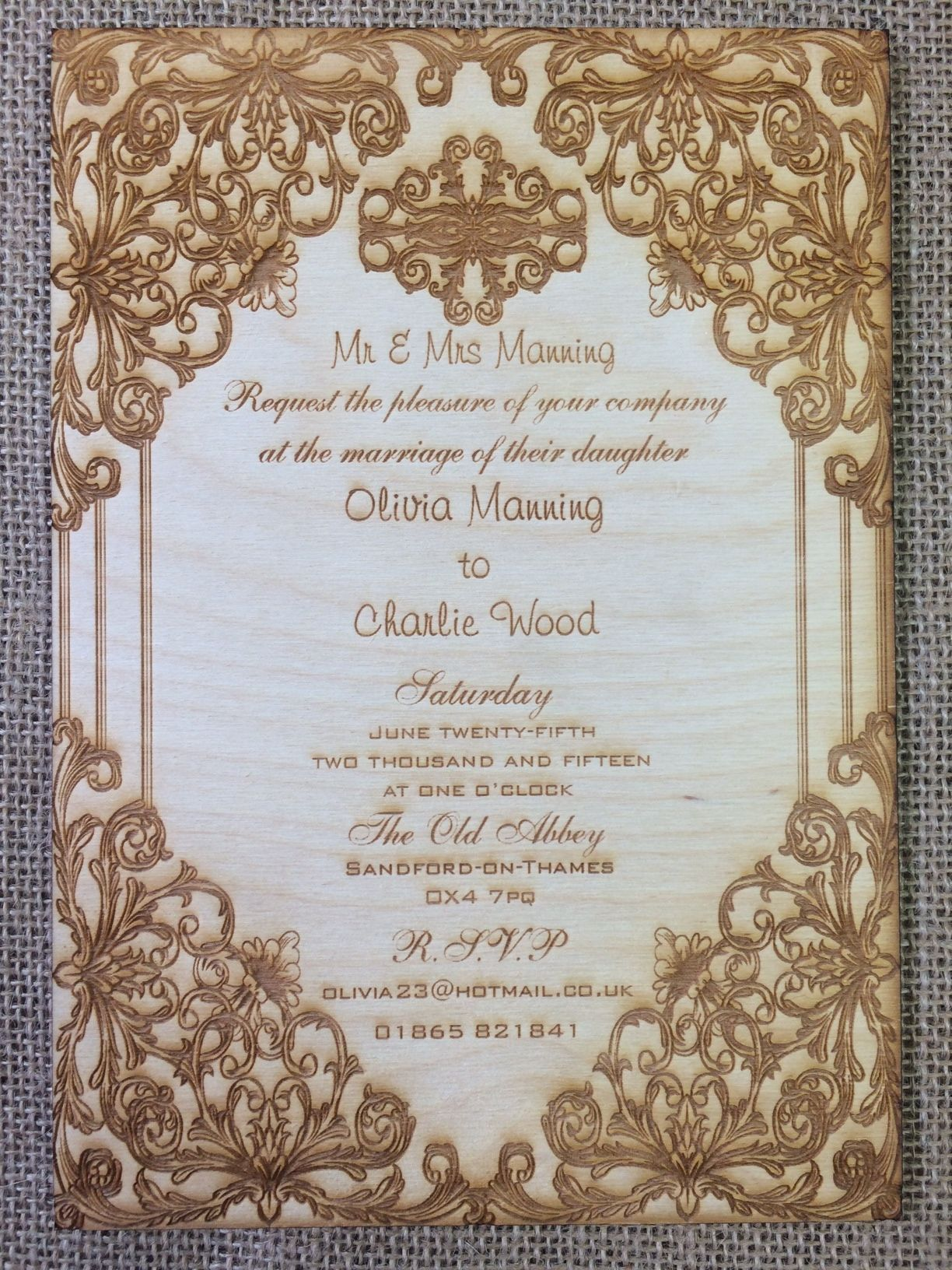 These elegant invitations are the perfect way to add a touch of ...