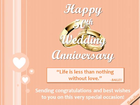 For A 50th Wedding Anniversary 50th Wedding Anniversary Happy 50th Anniversary Happy Anniversary Messages