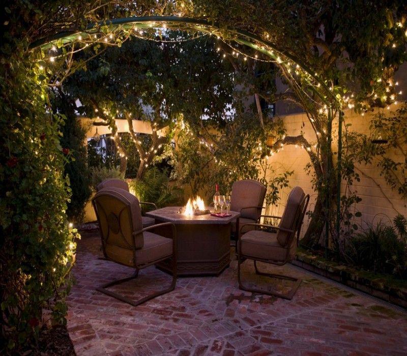 Outdoor Lighting Under Pergola: Decorate Your Pergola Gazebo On This Christmas