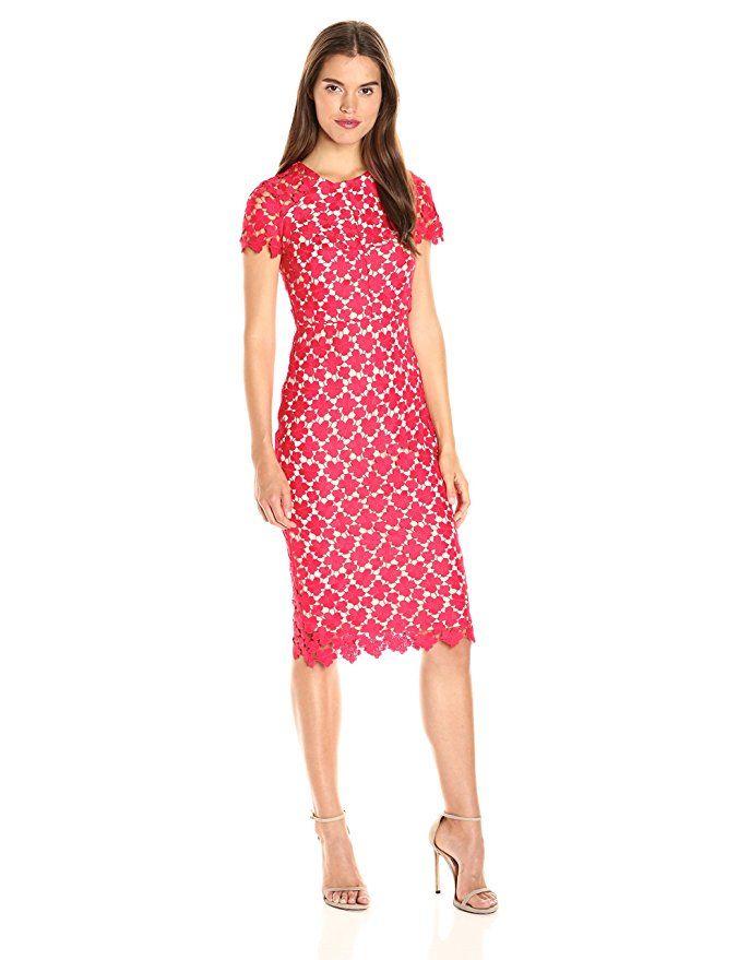 Shoshanna Womens Beaux Dress