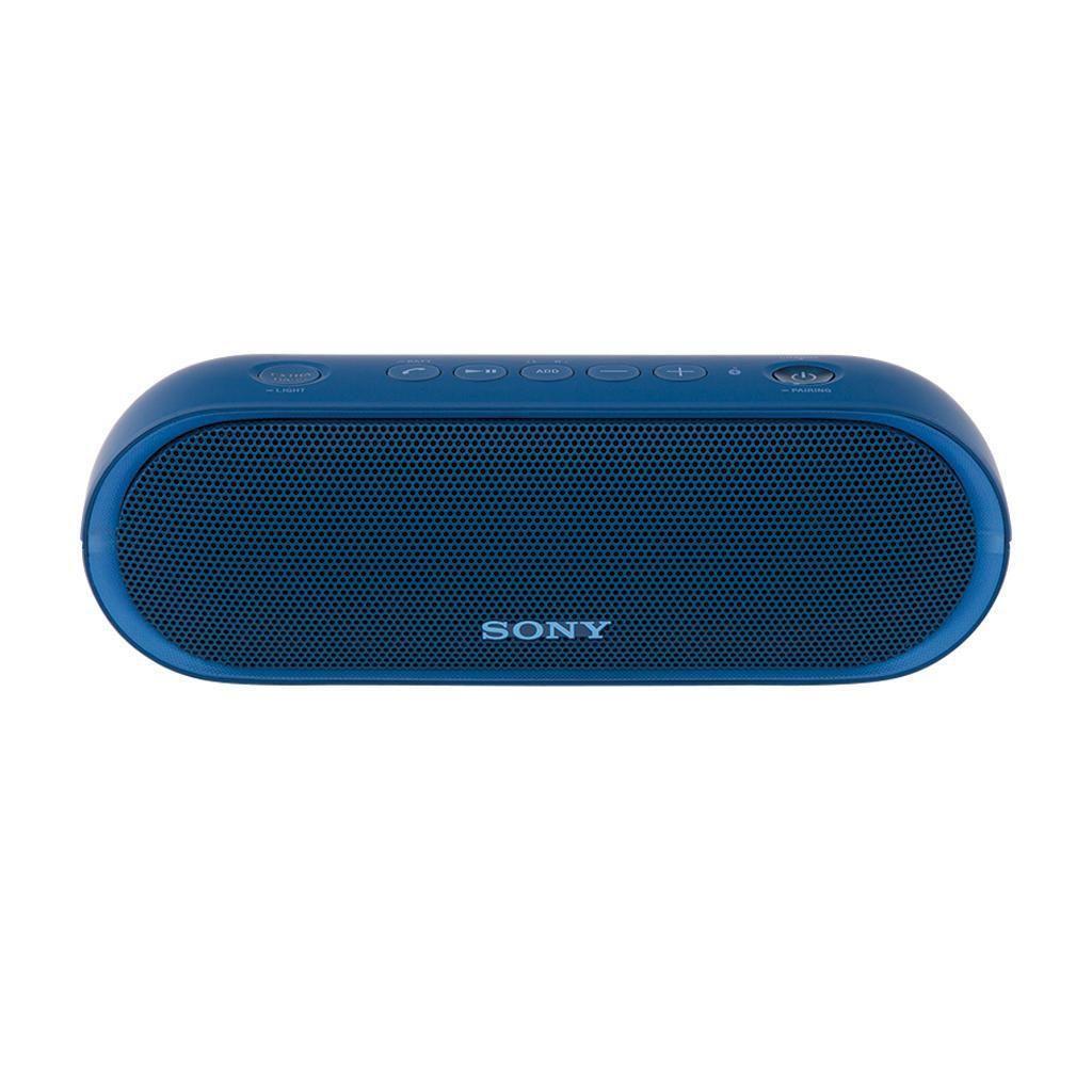 SRS-XB20 Wireless Portable Bluetooth Speaker With LED Lights Speakerphone Blue