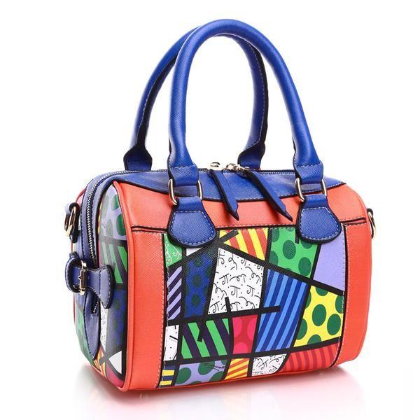 Romero Britto Handbag Sassy Posh 1