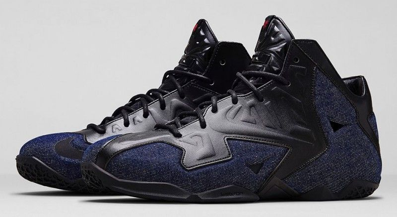 "58f457772850 The Nike LeBron 11 EXT ""Denim"" sneakers are set to make their release this  weekend. Description from undergroundsoles.com. I searched for this on  bing.com  ..."