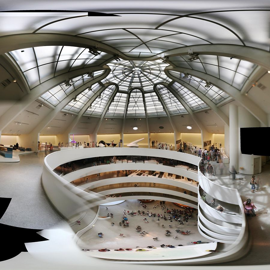 The Solomon R Guggenheim Museum 1937 By Frank Lloyd Wright Gehry Architecture Frank Lloyd Wright Architecture Museum Interior