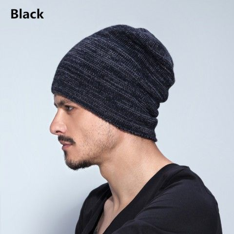 Mens knit hat for winter wear beanie hats  775a1c0681e