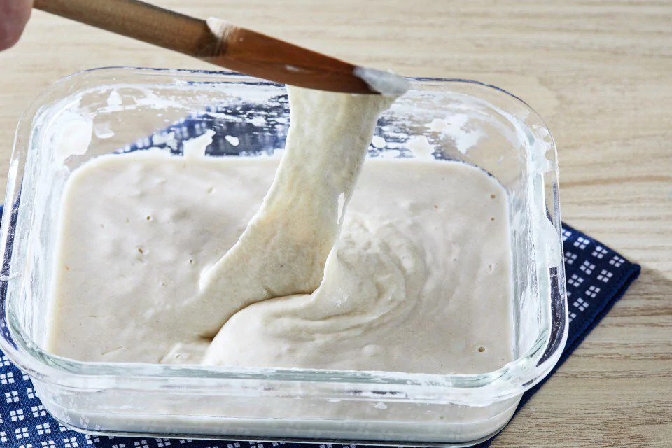 How to make your own sourdough starter for bread, pancakes