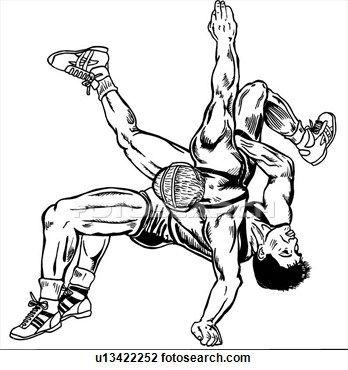 Wrestling Png Clipart Freestyle Wrestling Clip Art - Wrestling Clipart,  Transparent Png - vhv