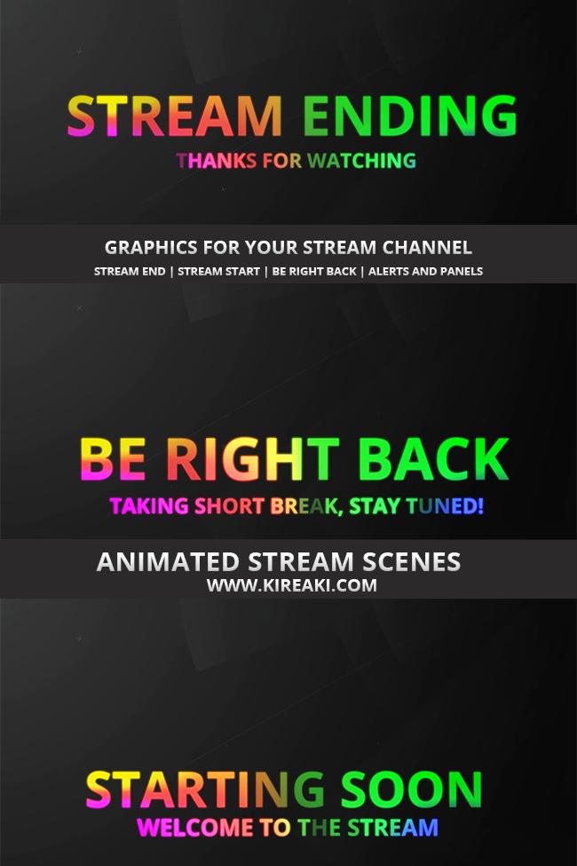 Shop Dexpixel Twitch Alerts Overlays Scenes Scenes Streaming Animation